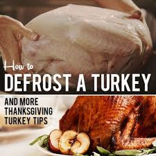 how to thaw a turkey and more thanksgiving turkey tips
