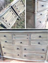 Distressed Antique White Bedroom Furniture Painting Wood Antique White