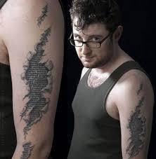 39 best torn flesh star tattoo designs images on pinterest star