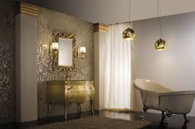 Gold Bathroom Fixtures Gold Bathroom Lights Lighting Light Bar Coloured Wall Colored