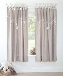 Unisex Nursery Curtains Millie Boris Lined Tie Top Curtains 132 X 160cm New