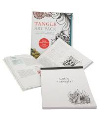 art pack a meditative drawing book and sketch pad