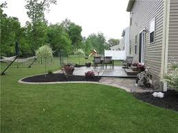 Landscaping For Backyard Patio Landscaping Ideas Design Home Ideas Pictures Homecolors
