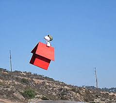 snoopy on his dog house snoopy doghouse remote quadcopter drone