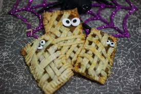 halloween mummy pumpkin pop tarts recipe jenns blah blah blog