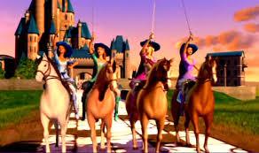 barbie musketeers cartoons
