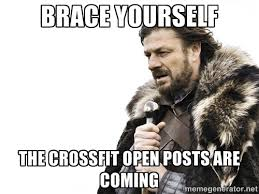 Crossfit Open Meme - what to expect in the 2016 open