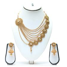 gold jewellery sets designs swarajshop gold neck set designs