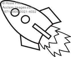 clipart illustration rocket ship