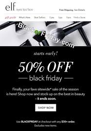 e l f cosmetics black friday 2017 sale deals black friday 2017