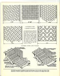 brick paver patterns i have a weakness for diagrams of thi u2026 flickr