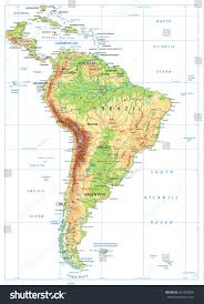 physical map of argentina south america physical map isolated on stock vector 565666903