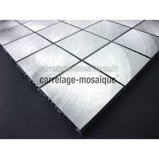plaque aluminium pour cuisine carrelage mosaique aluminium 1 plaque alu 48