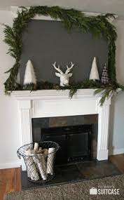 We Could Be Beautiful by A Rustic Modern Christmas Mantel My Sister U0027s Suitcase Packed