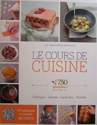 livre cours de cuisine 750 grammes le cours de cuisine livraddict