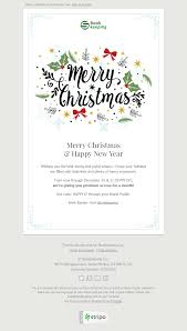 merry christmas email template sincere congratulations for finance