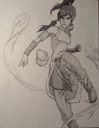 how to draw korra awesome the legend of korra youtube