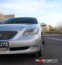 lexus ls 460 black rims 22 inch staggered verde v20 insignia hypersilver machined on 2008