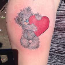 45 sweet teddy bear tattoos for your body 2018