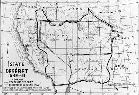 Utah State Map State History Geographic Names Committee Utah Department Of