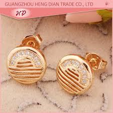 modern gold stud earrings cheap brand modern gold stud earrings for view gold