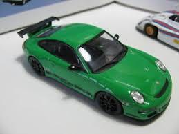 porsche gt3 ebay 1 43 minichs porsche 911 gt3 rs green diecast ebay