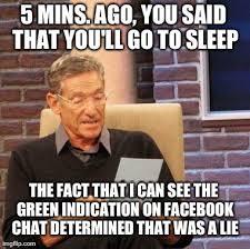 Memes Facebook Chat - maury lie detector meme imgflip