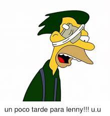 Lenny Meme - un poco tarde para lenny uu lenny meme on sizzle