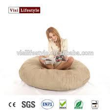 2017 giant foam filled bean bag confortable indoor beanbag bed