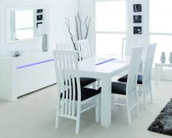 kitchen marvelous white linen dining chairs white leather dining