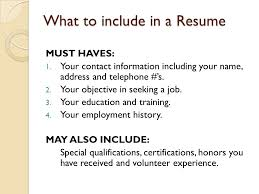 What To Include In A Resume For A Job by 4 3 Apply For A Job Goals Identify Ways To Find Out About Job