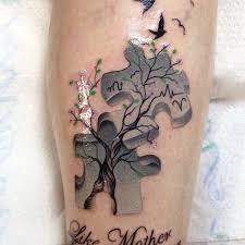 más de 25 ideas únicas sobre tatuajes de pieza del rompecabeza en