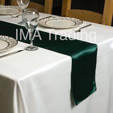 emerald green table runners emerald green satin table runner