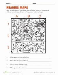 reading maps worksheet free worksheets library download and