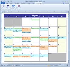 calendar maker creator for word and excel ms office template saneme