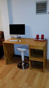 Diy Pallet Wood Distressed Table Computer Desk 101 Pallets by 13 Best Computer Desk Images On Pinterest Pallet Desk Pallet