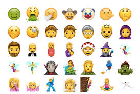 Emoji Pumpkin Carving by New Emojis To Include Vampires Pie And A Person In A Headscarf