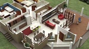 3d apartment and house plan youtube