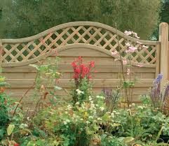 forest prague screen wooden fence panels 180 x 120cm gardensite