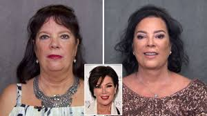 kris jenner haircut side view kris jenner s sister looks just like her after having plastic