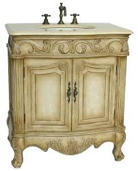 Country Vanity Bathroom Enthralling Bathroom Vanities Country Antique Style White