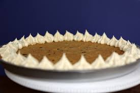 halloween cookie cake chocolate chip cookie cake recipe popsugar food