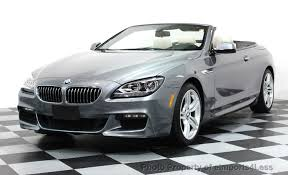 2014 bmw 640i convertible 2014 used bmw 6 series certified 640i xdrive m sport cabrio