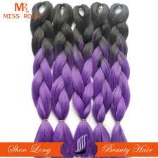ombre kanekalon braiding hair ombre kanekalon jumbo braiding hair high temperature fiber jumbo