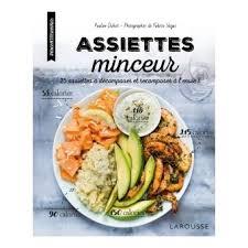 livre cuisine minceur assiettes minceur 25 assiettes à décomposer et recomposer à l envi