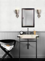 Small Bathroom Vanity Ideas by Industrial Bathroom Vanity Butcher Block And Galvanized Pipe