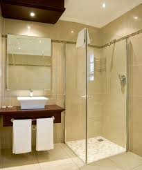 Walk In Shower Enclosures For Small Bathrooms Aqua Curved Glass Blocks Wall Walk In Shower For Small Bathroom