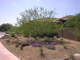 Front Yard Desert Landscape Mediterranean Exterior Attractive Front Yard Desert Landscaping Ideas U2014 Bistrodre Porch