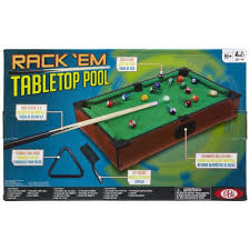 tabletop pool table toys r us ideal rack em tabletop pool game havabi