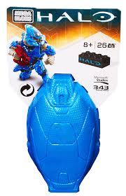 amazon com mega bloks halo drop pod metallic blue elite toy